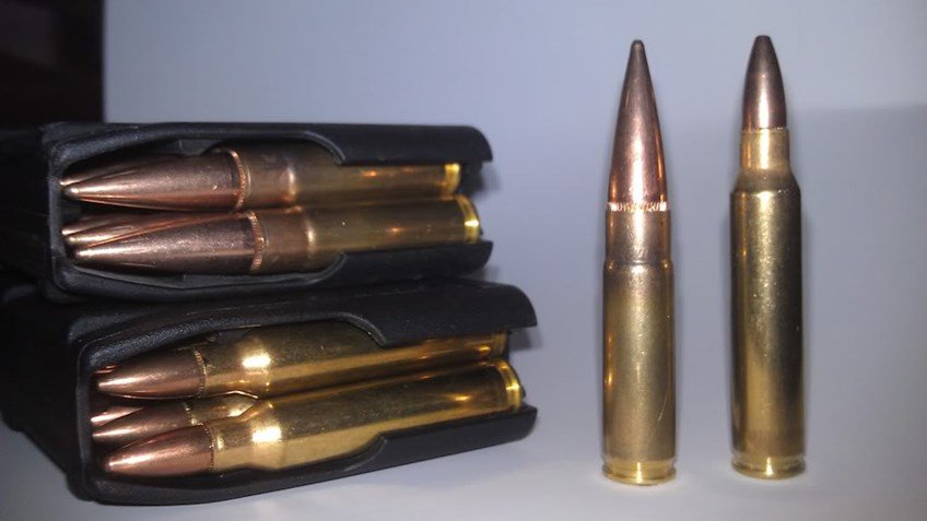 .223 and 300 Black Out