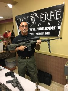 Live Free armory's LF10 in 6.5 Creedmoor