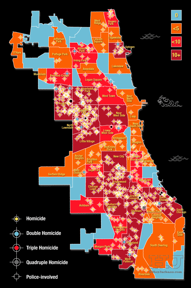Chicago, crime map, gun control, live free armory